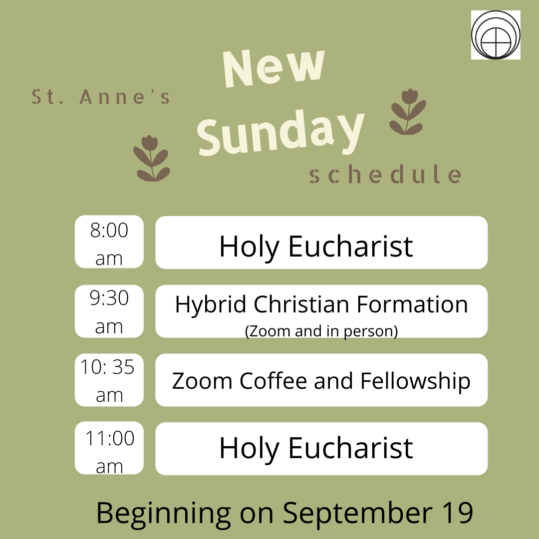 St. Anne's new program year info